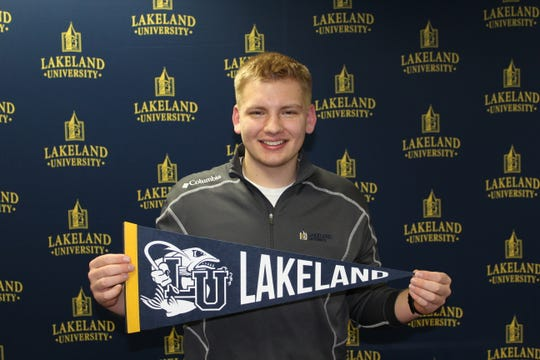 Random Lake High Schools Jacob Sagal won a Lakeland University Scholars Scholarship.