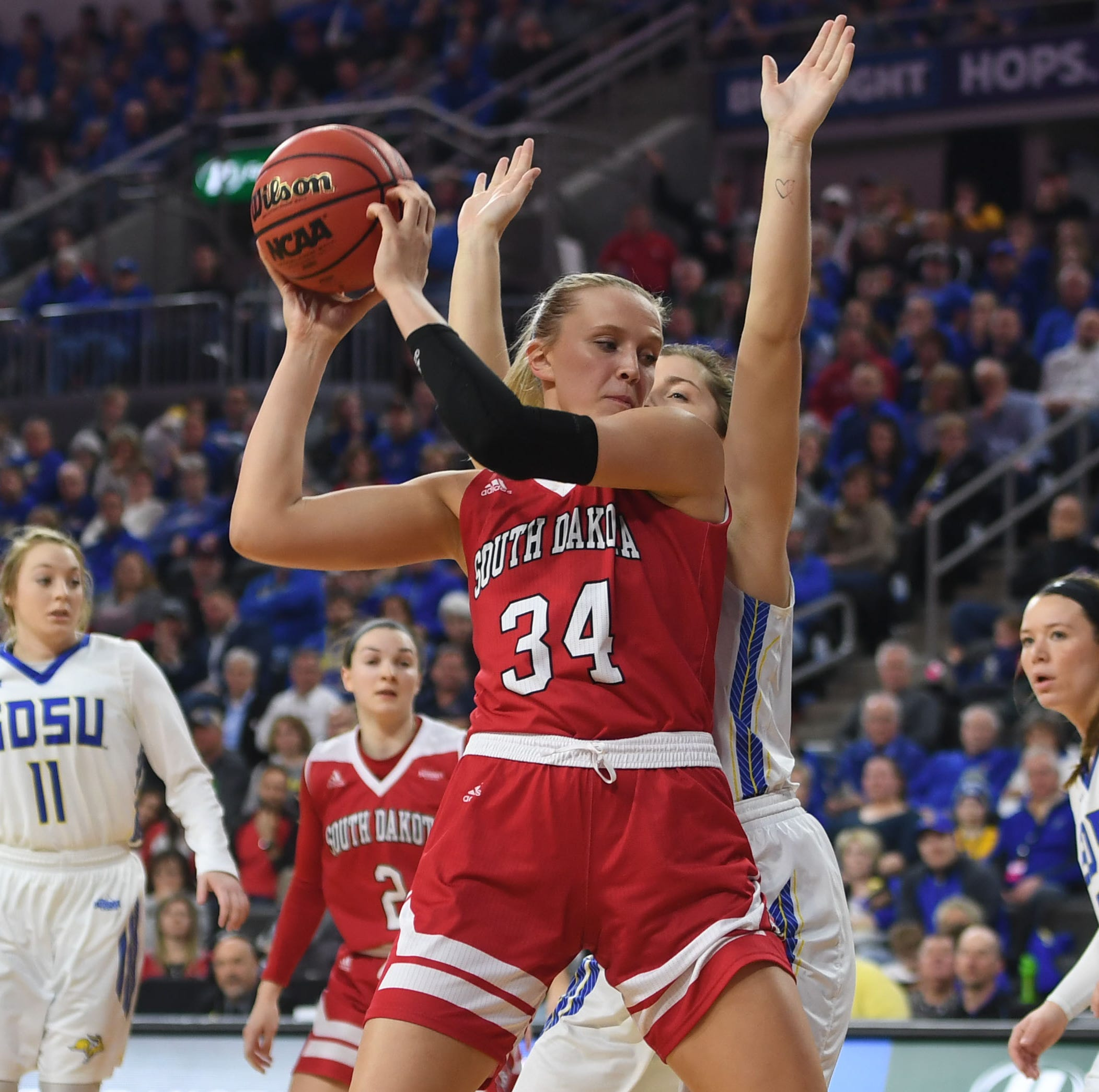 South Dakota Coyotes at NCAA tournament: Hannah Sjerven develops into 'game changer'
