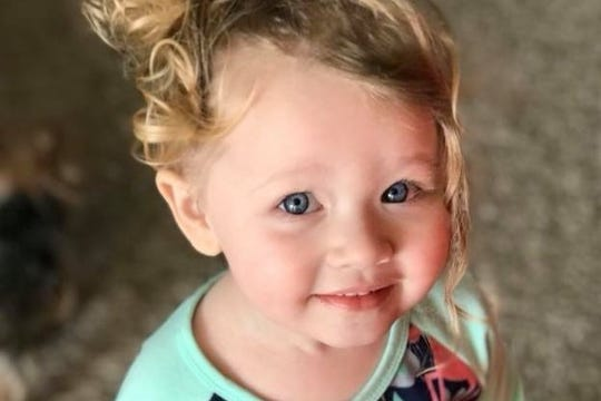 3-year old Ellie Milot is the daughter of Harlie Cypher, who died last year. Ellie Joy's Closet is a fundraising effort started by Milot's grandmother, Heather Ness.