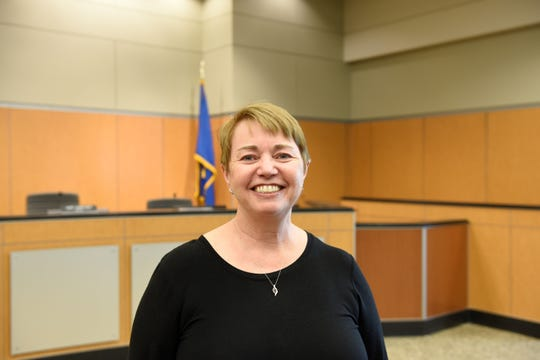 Dottie Seamans is appointed to Sauk Rapids City Council on March 11, 2019.