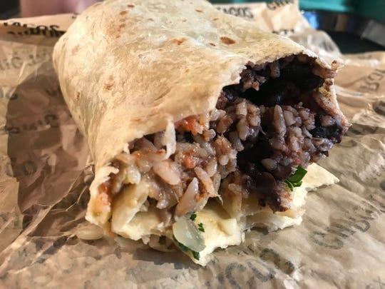 Chronic Tacos serves up a carnitas burrito.