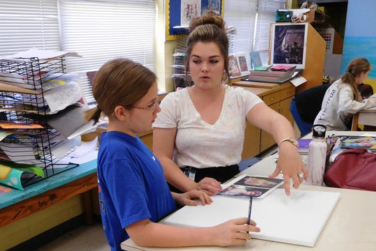Raa's arts mentoring program provides a low-stakes environment to start making art with kids.