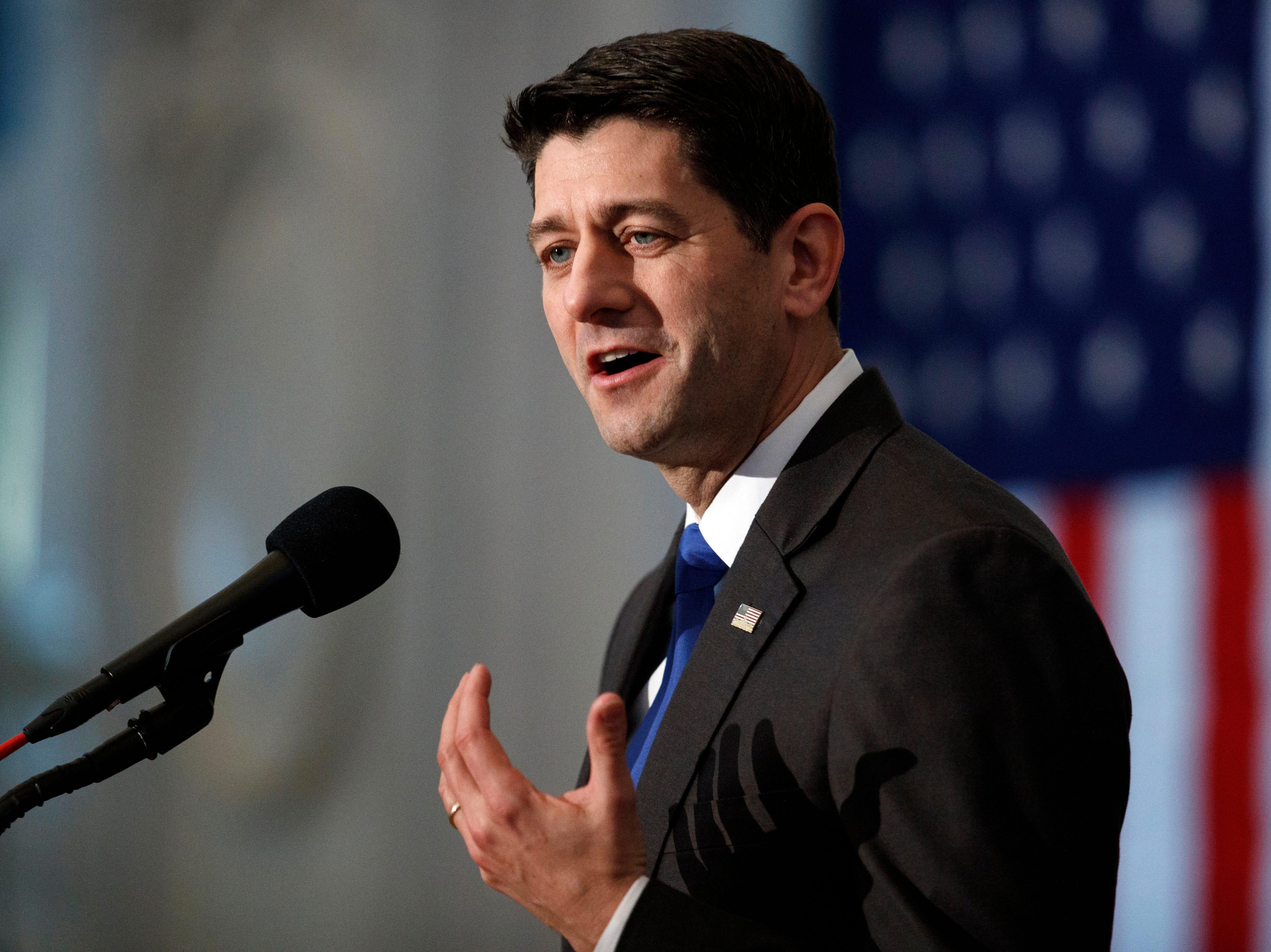 Former House Speaker Paul Ryan focuses on policy, gridlock in Vero Beach lecture