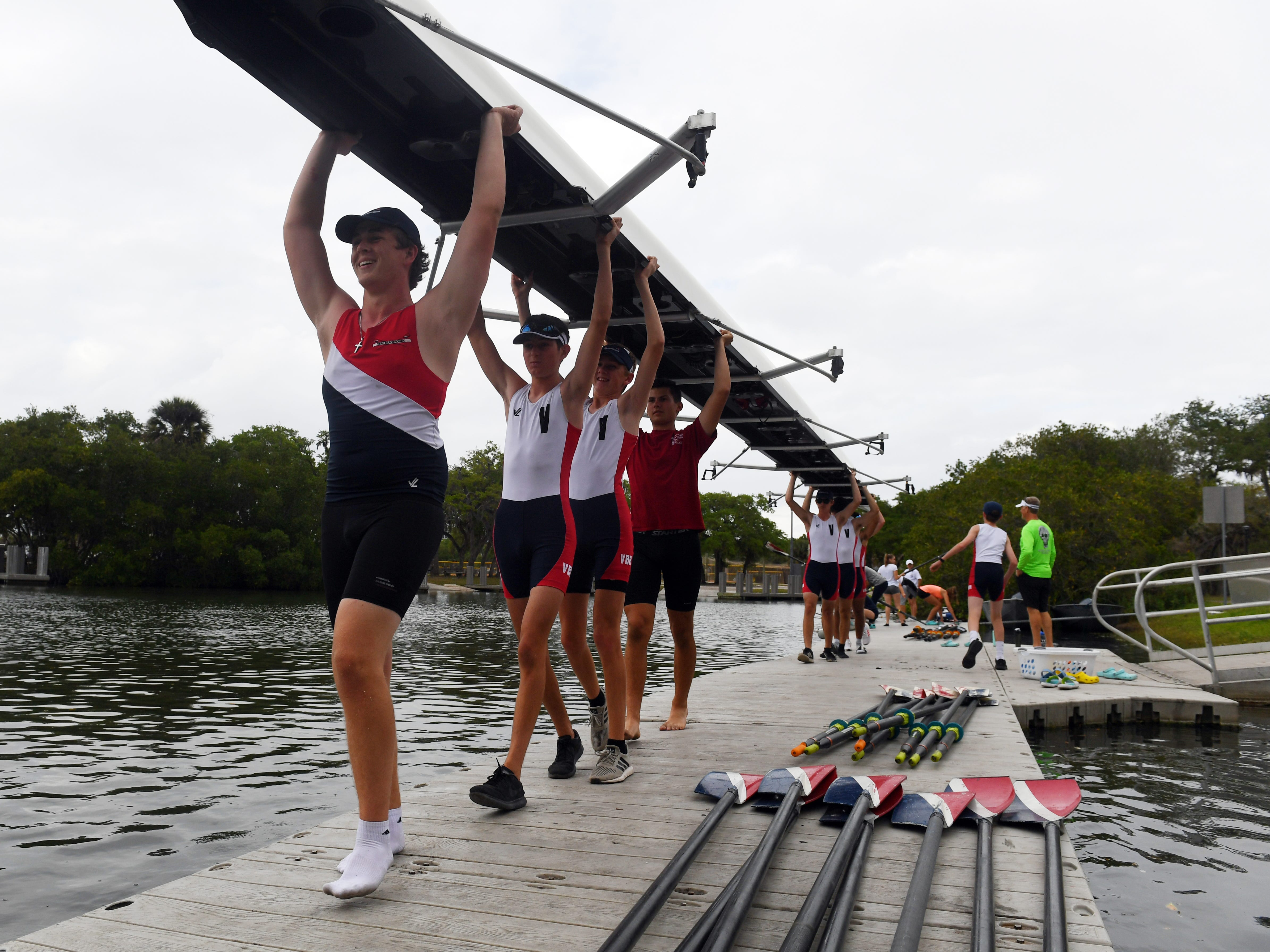 Vero Beach Rowing, a non-profit community organization in Vero Beach, has grown in popularity and membership over the last few years and will begin a $2.5 million construction project on a new boathouse at McWilliams Park in Vero Beach. The club has both junior and adult programs with about 30 and 90 members respectively.