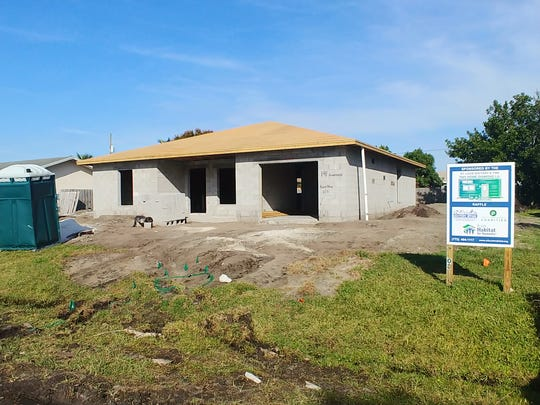 Funding for construction of the St. Lucie Habitat for Humanity home on Northeast Surfside Avenue in Port St. Lucie was provided by St. Lucie Battery & Tire, through the sale of Tiny Home raffle tickets; and grants from Publix Super Markets Charities and Wells Fargo Bank.