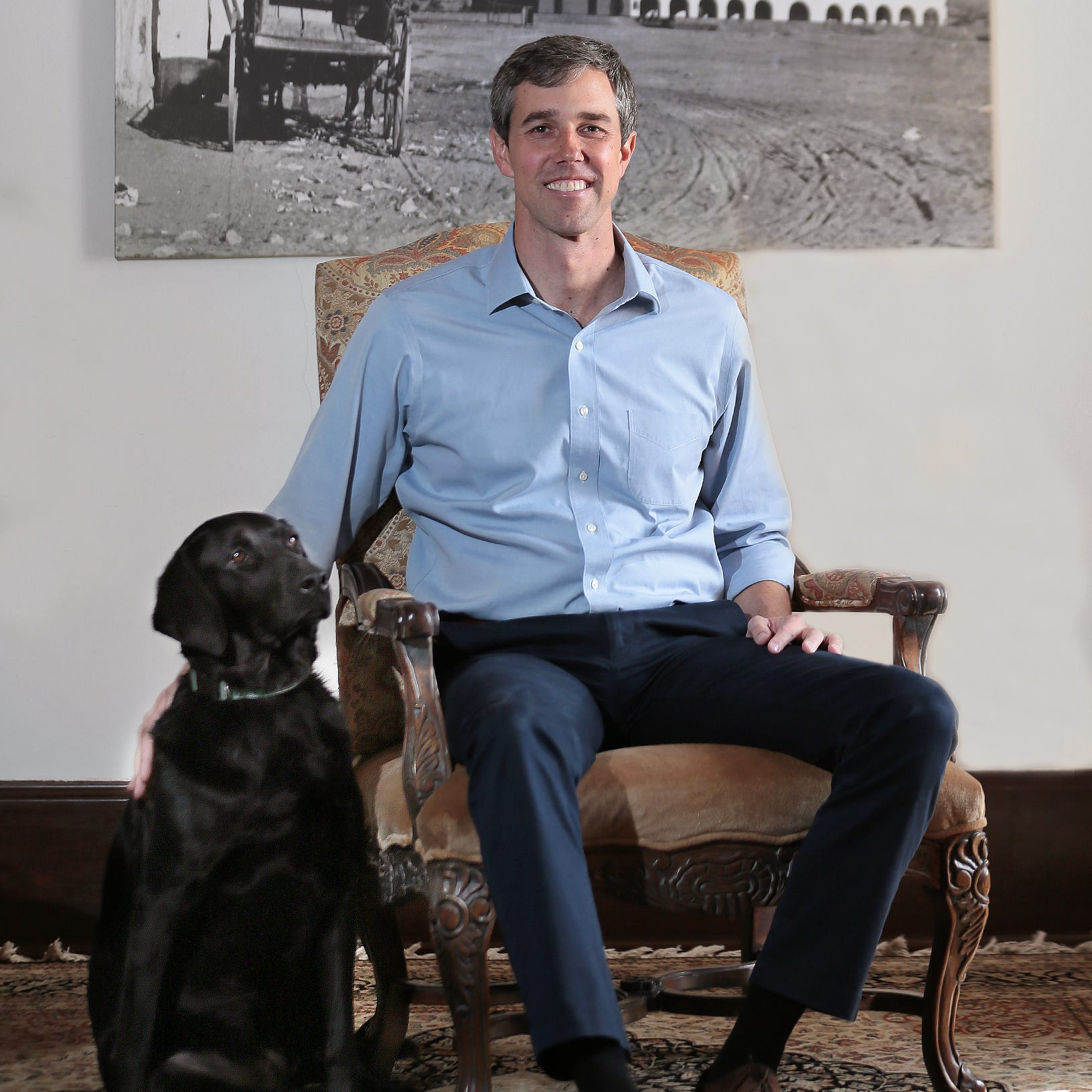 Beto O'Rourke teases presidential run in 'Vanity Fair,' Twitter focuses on his dog