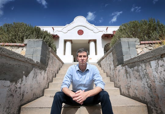 Democrat Beto O'Rourke lives in the Sunset Heights neighborhood of El Paso.
