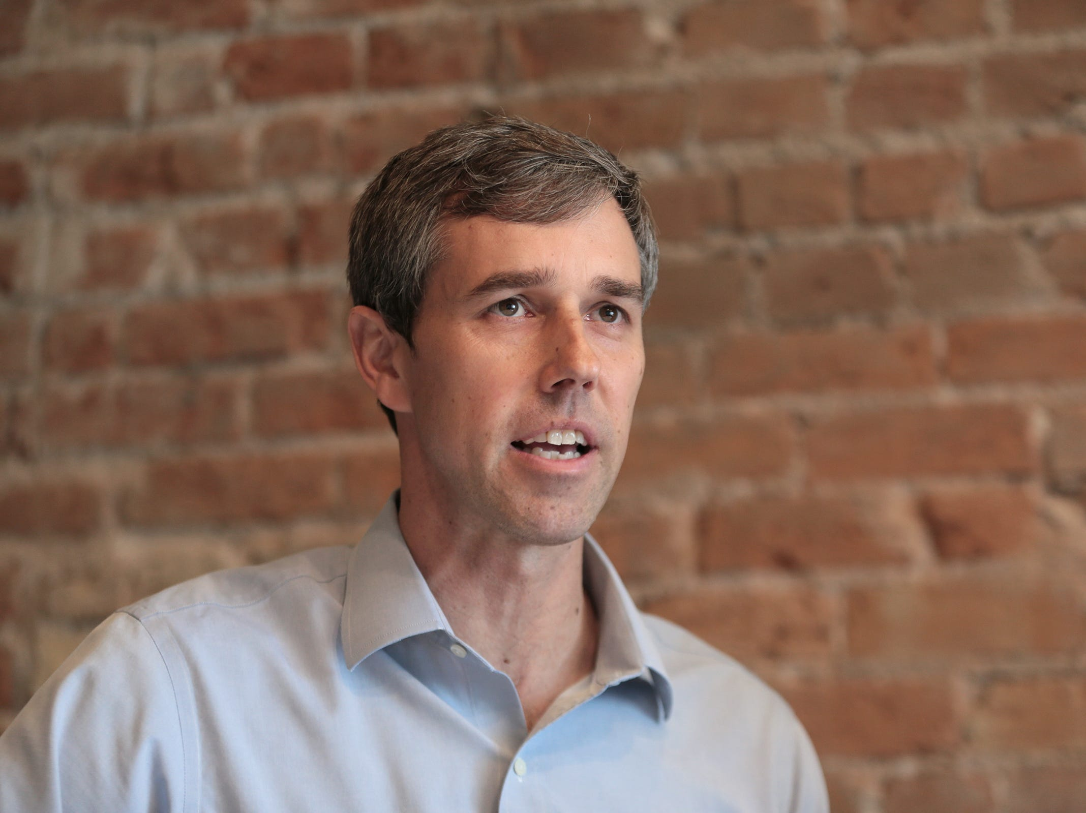 Beto O'Rourke at his home.