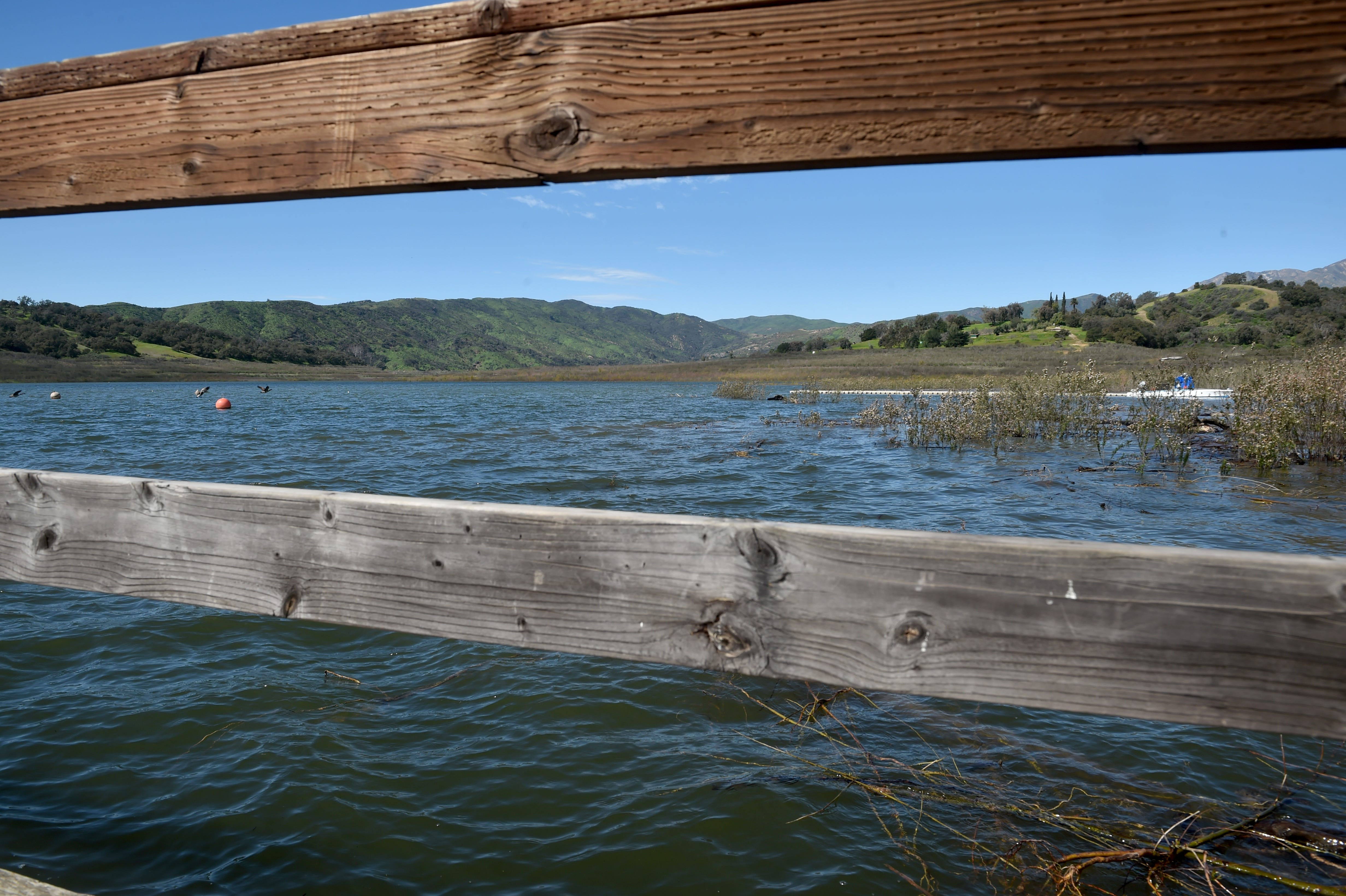 Here's what Lake Casitas looks like after the winter storms