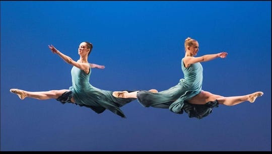 Alexandra Bisignaro (left) and Angelina Bartolozzi will be among the performers in the Vineland Regional Dance Company's spring dance concert.