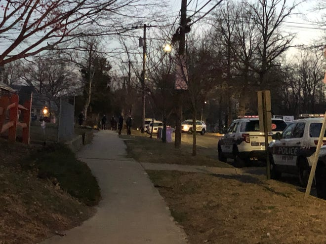 A block of West Avenue was closed March 11 due to an ongoing Vineland Police investigation.