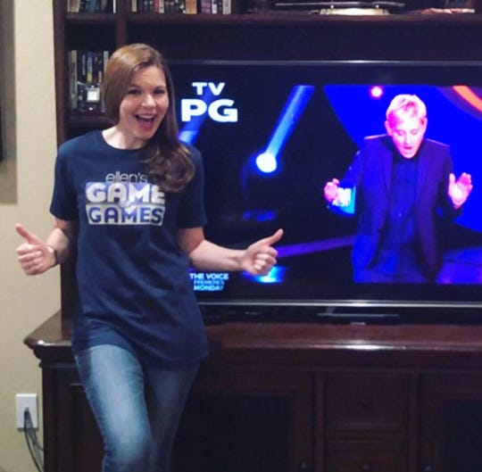 """Golden West chemistry teacher, Jenny Harmon, will compete on tonight's """"Ellen's Game of Games,"""" airing at 8 p.m. on NBC."""
