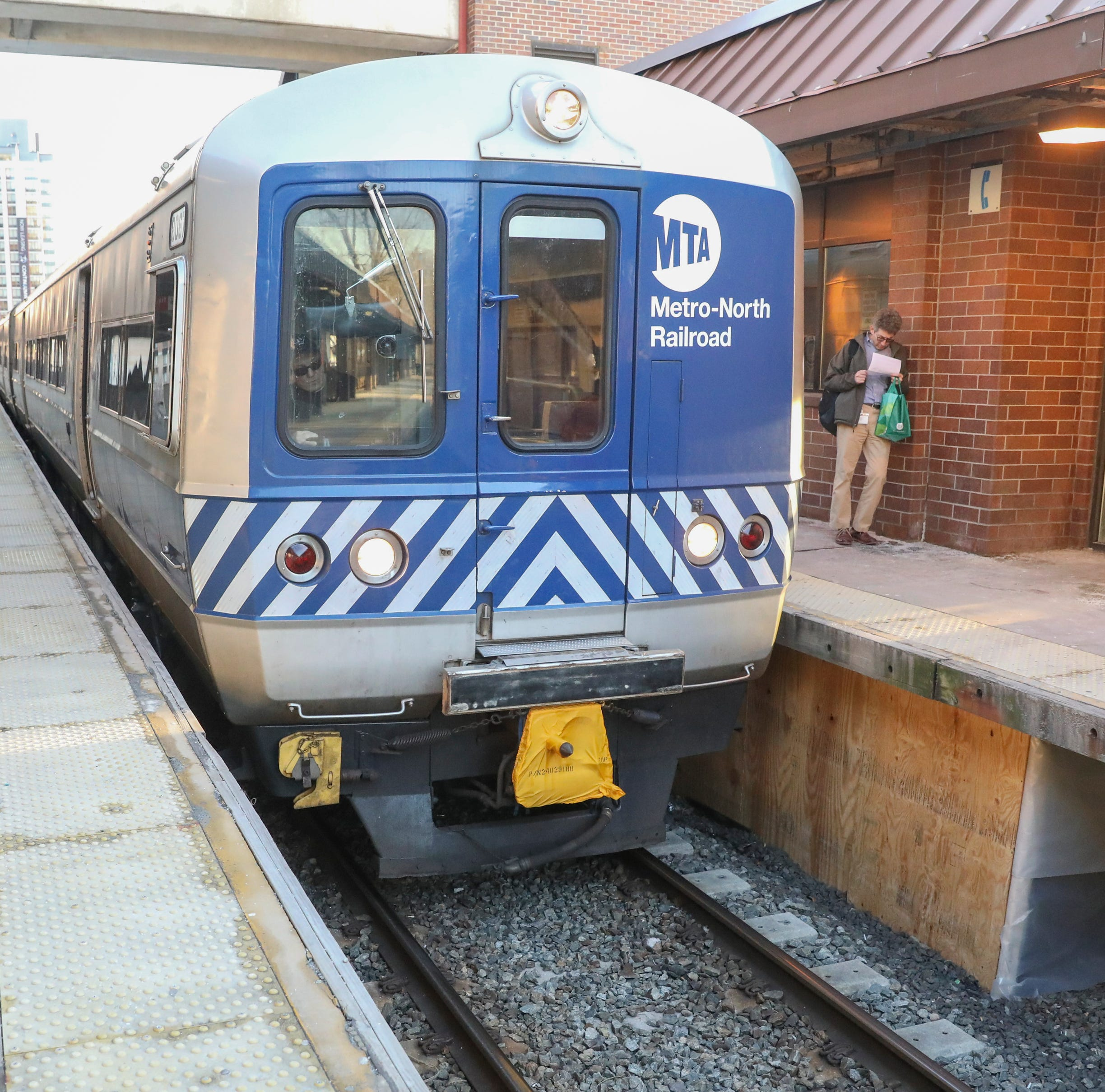 Metro-North Railroad trains delayed during morning commute