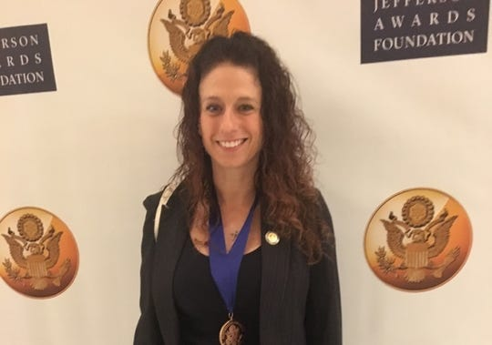 Pace Professor Kimberly Collica-Cox, with Jefferson Award for Public Service, has been named to the Westchester County Corrections board