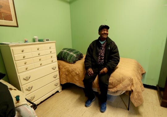 Frederick Parks, an army veteran, has been a resident at the Jan Peek homeless shelter in Peekskill for the last two months. Barkes was photographed March 12, 2019. The shelter is proposing to move to another location in Peekskill. It had planned to move to Washington Street, but has changed course after residents of Washington Street voiced opposition to the shelter relocating to their neighborhood.
