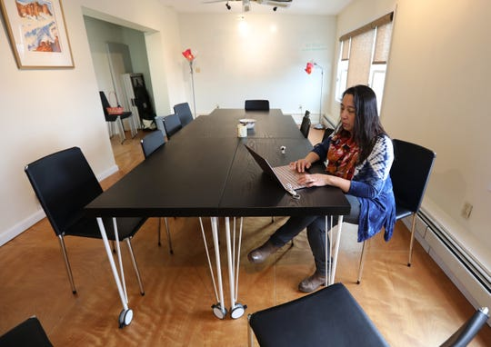Donna Miele co-owner of the CILK119 co-working place in Nanuet March 12, 2019.