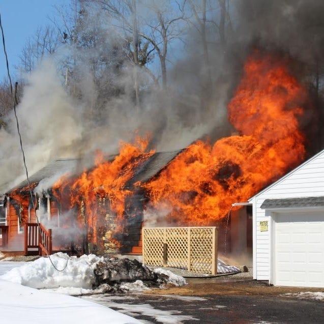 Fire guts Mahopac Falls house