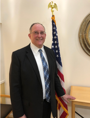 Airmont mayoral candidate Nathan Bubel in 2019