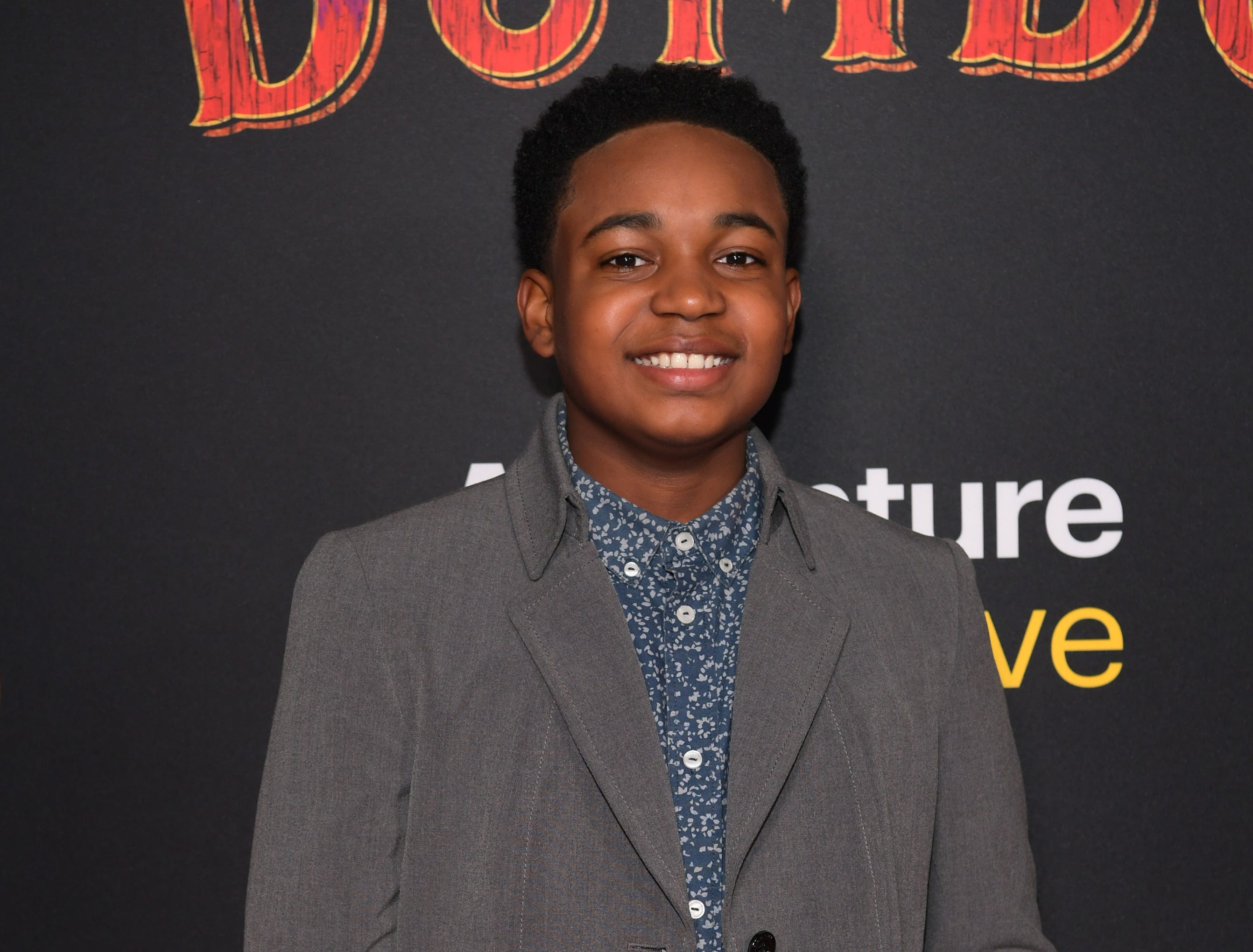 """LOS ANGELES, CALIFORNIA - MARCH 11: Issac Ryan Brown attends the premiere of Disney's """"Dumbo"""" at El Capitan Theatre on March 11, 2019 in Los Angeles, California. (Photo by Emma McIntyre/Getty Images) ORG XMIT: 775305572 ORIG FILE ID: 1135230391"""
