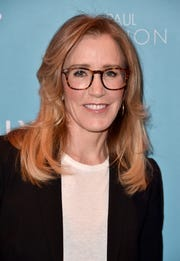 Felicity Huffman on February 19, 2019 in Los Angeles.