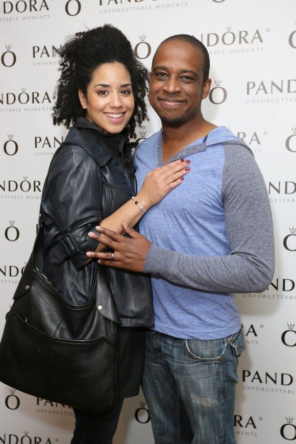Keith Powell and his wife Jill Knox welcomed a baby girl on Sunday Mar. 9.