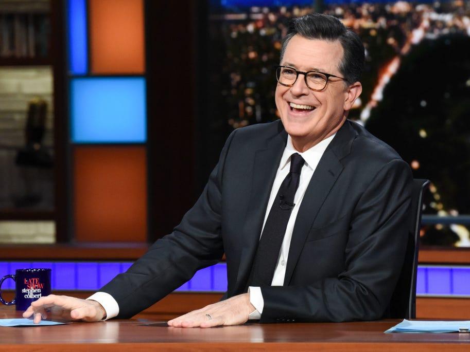 Colbert cracks 'Applegate' wide open in Best of Late Night
