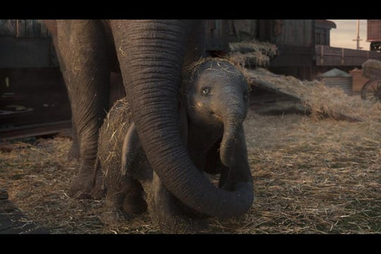 """The social reviews are coming in for Tim Burton's """"Dumbo."""""""