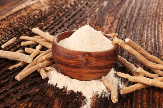 Ashwagandha can be found in powder or capsule form.