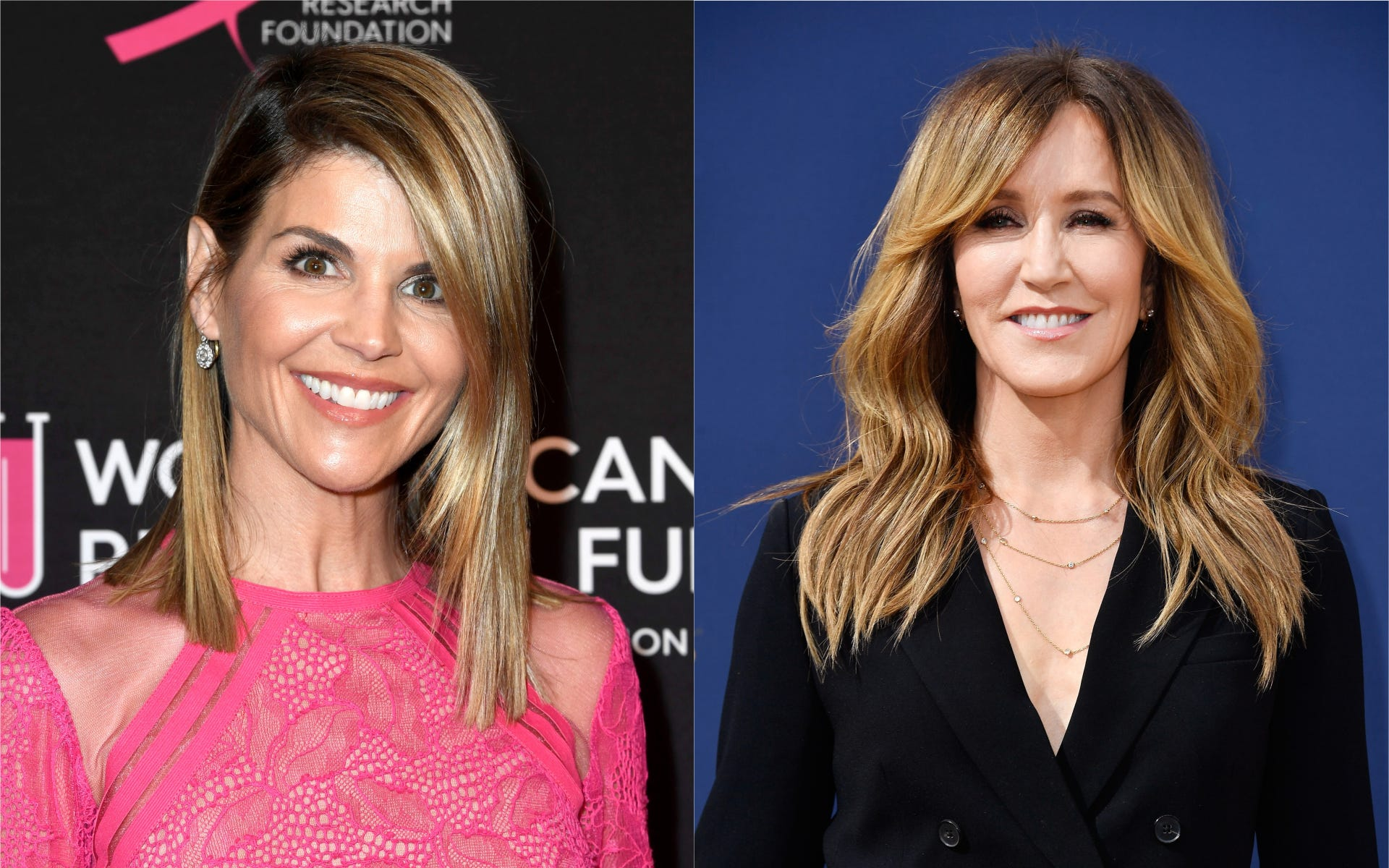 Lori Loughlin,Felicity Huffman sued for $500 billion(!) over college bribery scandal