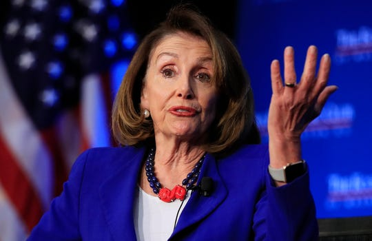 House Speaker Nancy Pelosi says impeachment is too divisive.