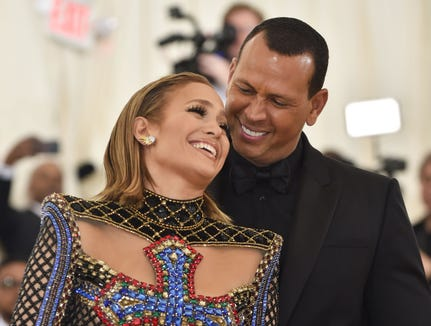 Jennifer Lopez and Alex Rodriguez were engaged March 9.