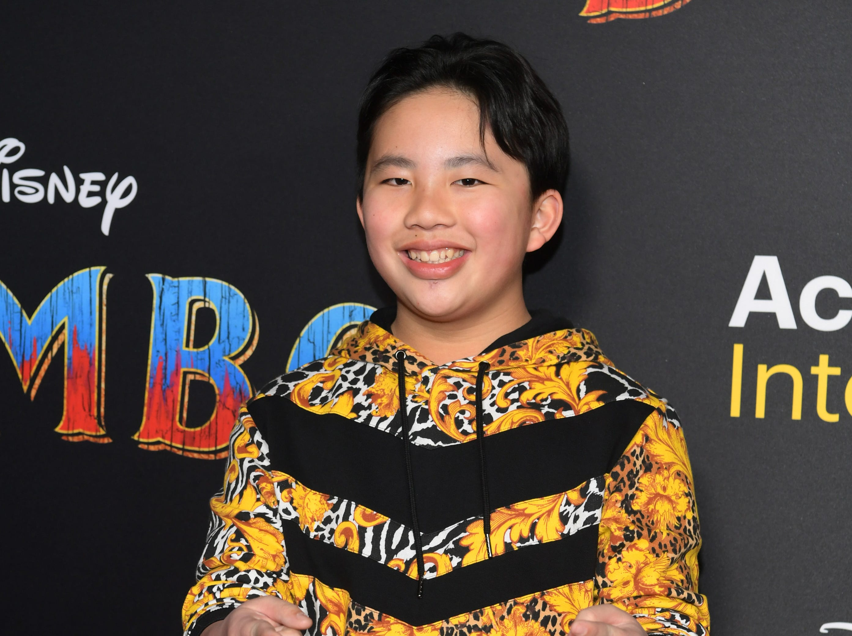 """LOS ANGELES, CALIFORNIA - MARCH 11: Albert Tsai attends the premiere of Disney's """"Dumbo"""" at El Capitan Theatre on March 11, 2019 in Los Angeles, California. (Photo by Emma McIntyre/Getty Images) ORG XMIT: 775305572 ORIG FILE ID: 1135227535"""