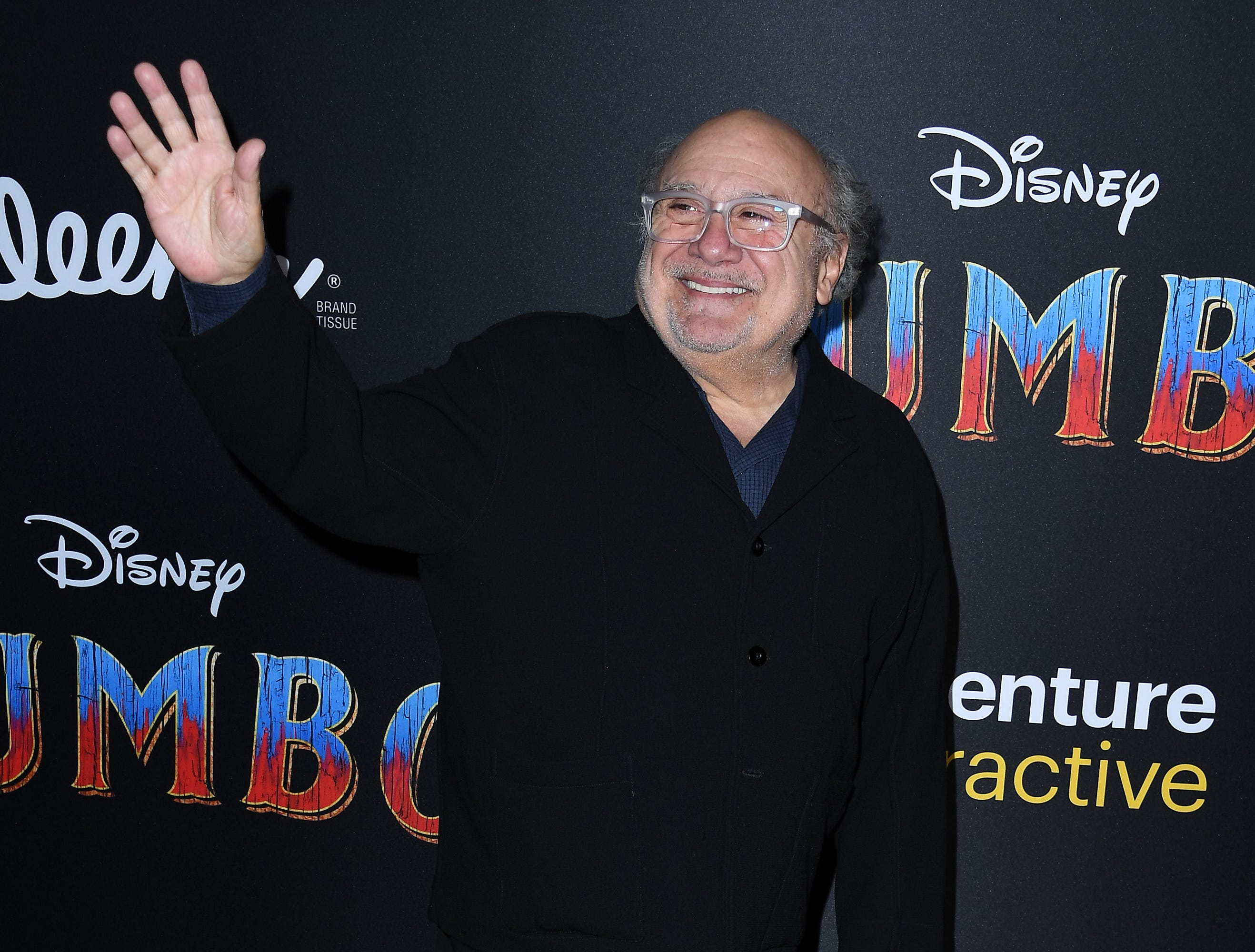 """LOS ANGELES, CALIFORNIA - MARCH 11: Danny DeVito attends the premiere of Disney's """"Dumbo"""" at El Capitan Theatre on March 11, 2019 in Los Angeles, California. (Photo by Steve Granitz/WireImage) ORG XMIT: 775305572 ORIG FILE ID: 1135219941"""