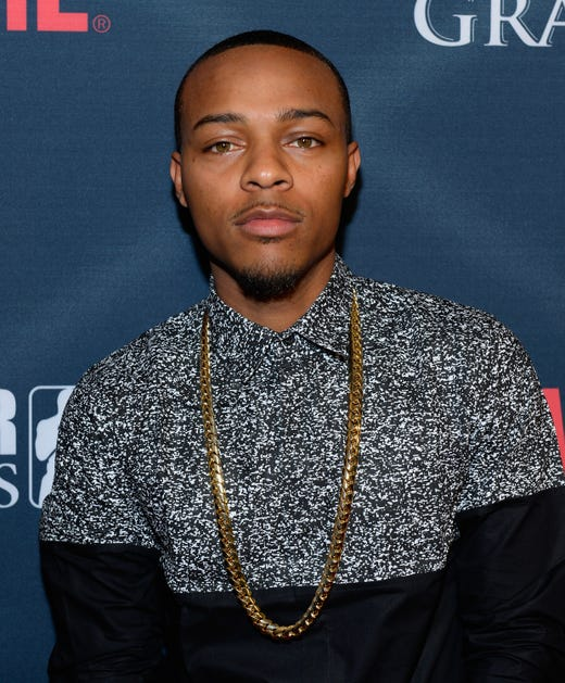 LAS VEGAS, NV - SEPTEMBER 12:  Rapper Bow Wow arrives at the VIP Pre-Fight Party for 'High Stakes: Mayweather v. Berto' presented by Showtime at the MGM Grand Garden Arena on September 12, 2015 in Las Vegas, Nevada.  (Photo by Bryan Steffy/Getty Images for Showtime) ORG XMIT: 577115651 ORIG FILE ID: 487964326