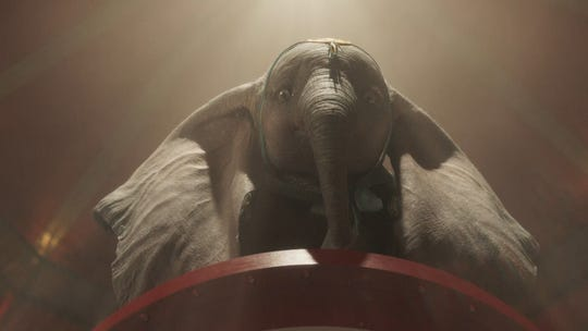 Review: Tim Burton's dreamy 'Dumbo' is weirdly watchable