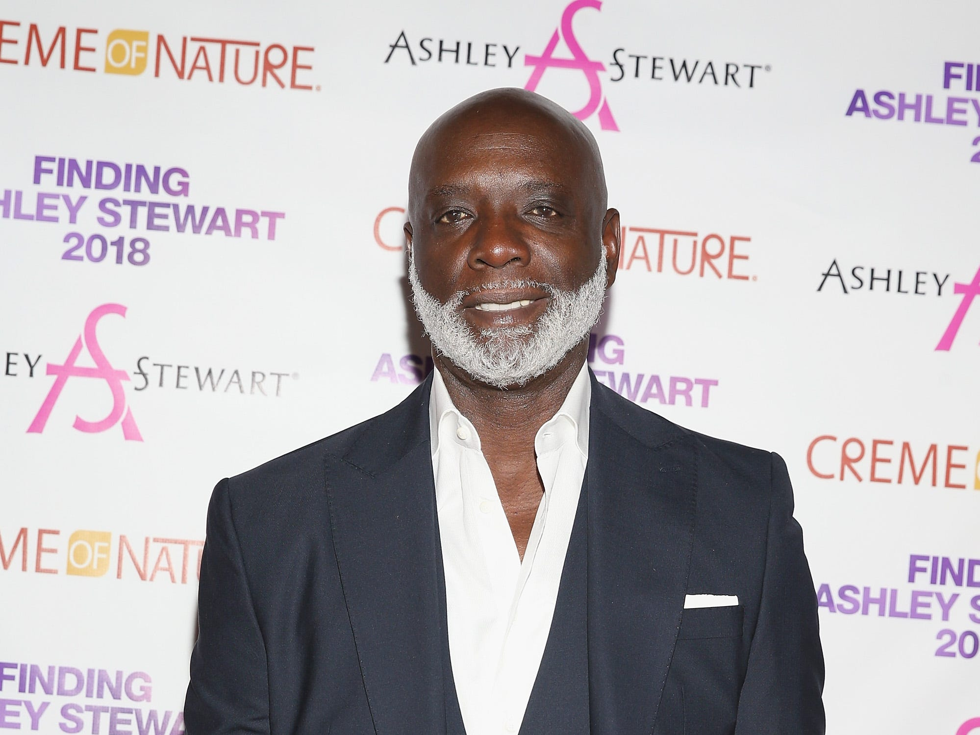 BROOKLYN, NY - SEPTEMBER 15:  Peter Thomas attends Finding Ashley Stewart 2018 at Kings Theatre on September 15, 2018 in Brooklyn, New York.  (Photo by Bennett Raglin/Getty Images for Ashley Stewart) ORG XMIT: 775226451 [Via MerlinFTP Drop]