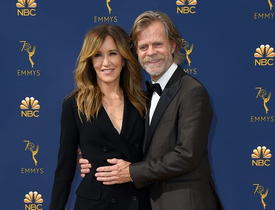 Felicity Huffman and William H. Macy.