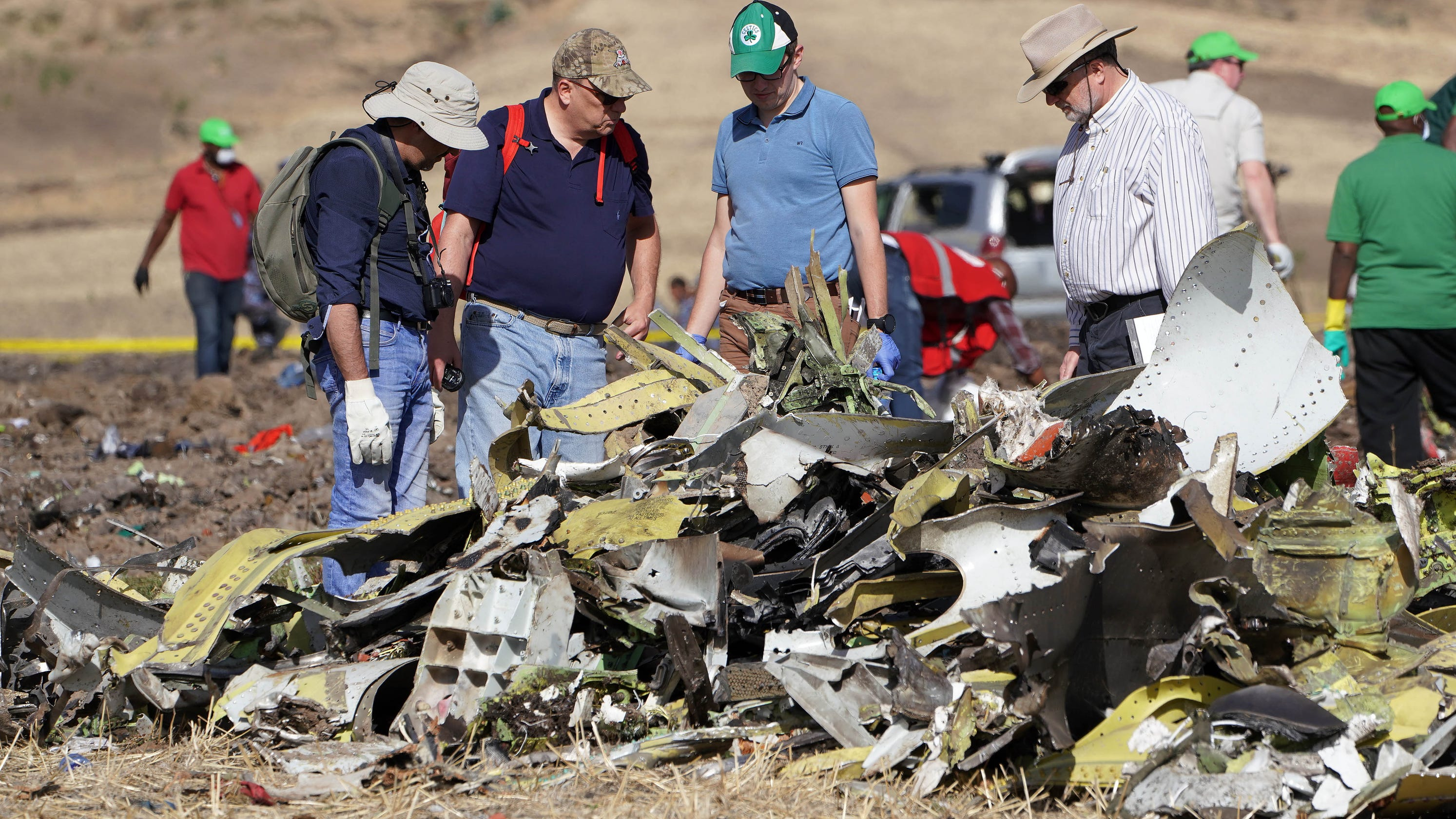 5acf1f883eed Investigators believe Boeing anti-stall system was activated in Ethiopian  crash  Report