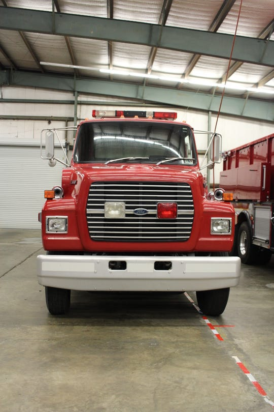 This pumper tanker fire truck soon will be in operation in Grant Parish Fire District #5.