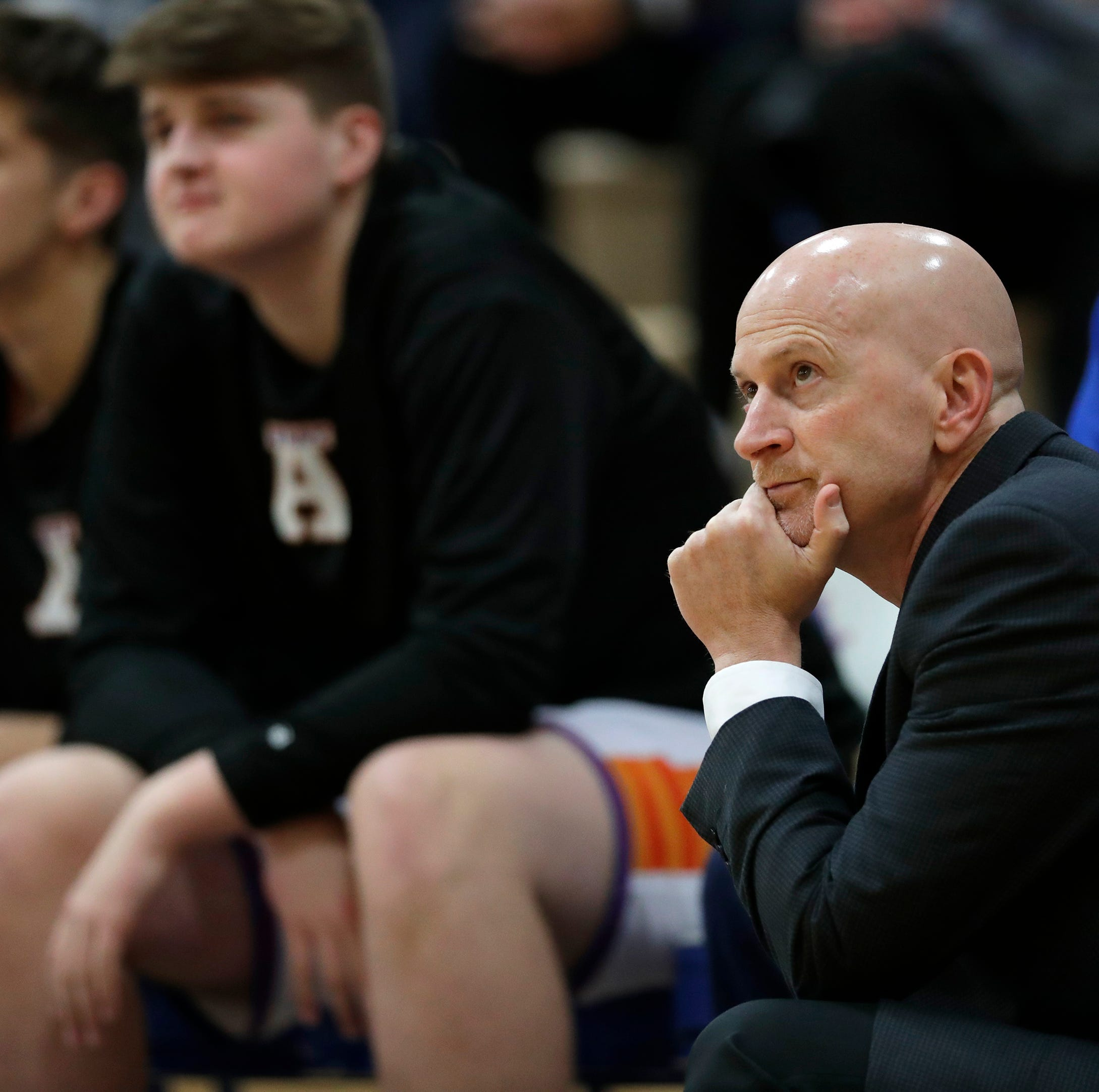 "Hussey steps down as Appleton West boys basketball coach after 12 seasons ""class ="" more-section-stories-thumb"