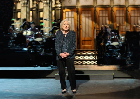 "With some help from a social media campaign, Betty White was picked to host ""Saturday Night Live"" for the first time in 2010."