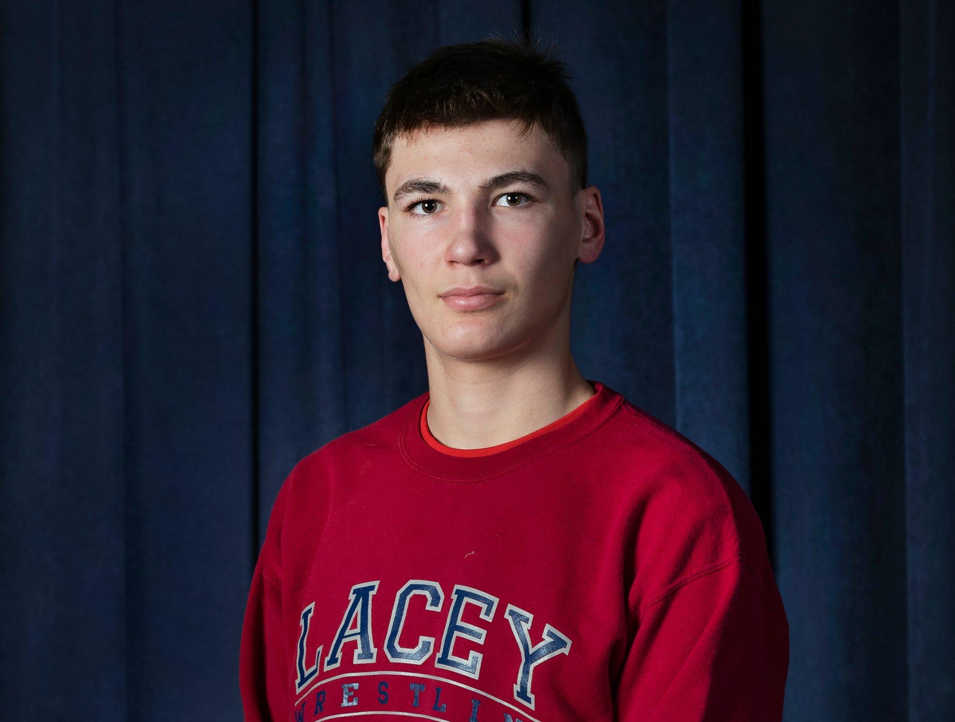 Hunter GutierrezLacey High School2019 Boys All Shore Wrestling