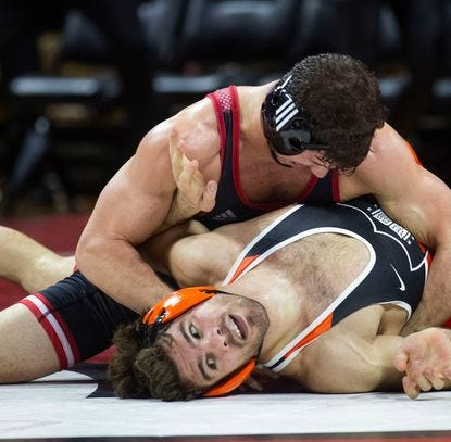 College wrestling: Anthony Ashnault, Sebastian Rivera earn No. 1 seeds in NCAA Tournament