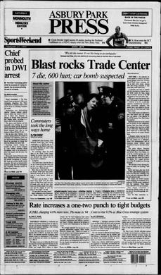 The World Trade Center is bombed in a stunning terrorist attack on American soil that takes the lives of six people and injures more than 1,000 others in this edition from Saturday, Feb. 27, 1993.