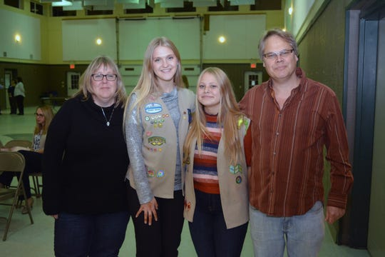 The Taylor family, from left: Terisa, Claire, Sarah and Steven