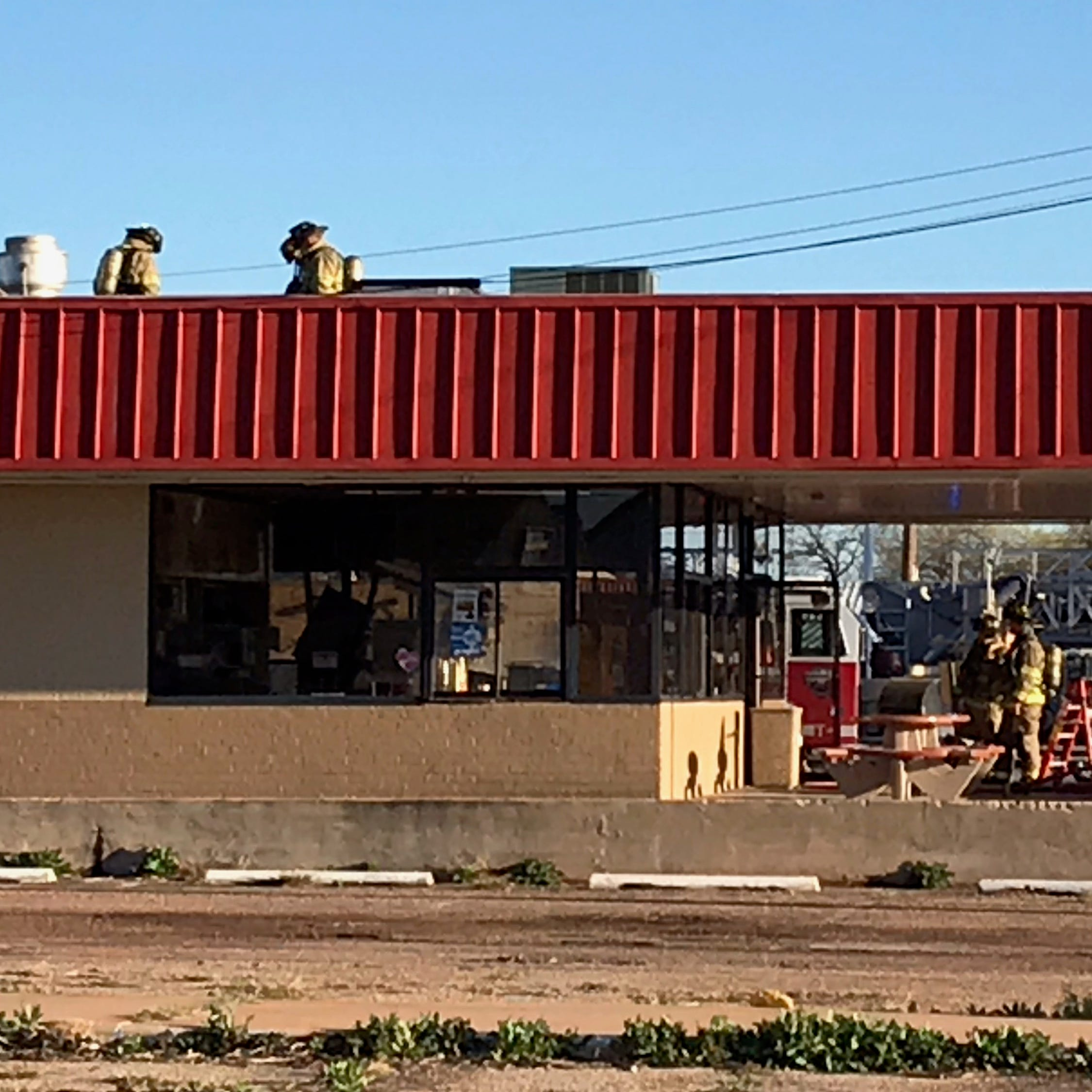 Abilene firefighters respond to heavy smoke at north-side DQ