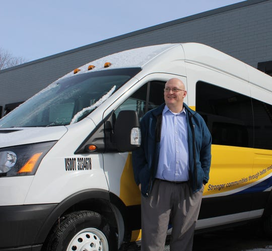 Scott Cubberly started Aequitas Mobility Services last year to fill in the gaps that exist in the current public transit offerings in Calhoun County.