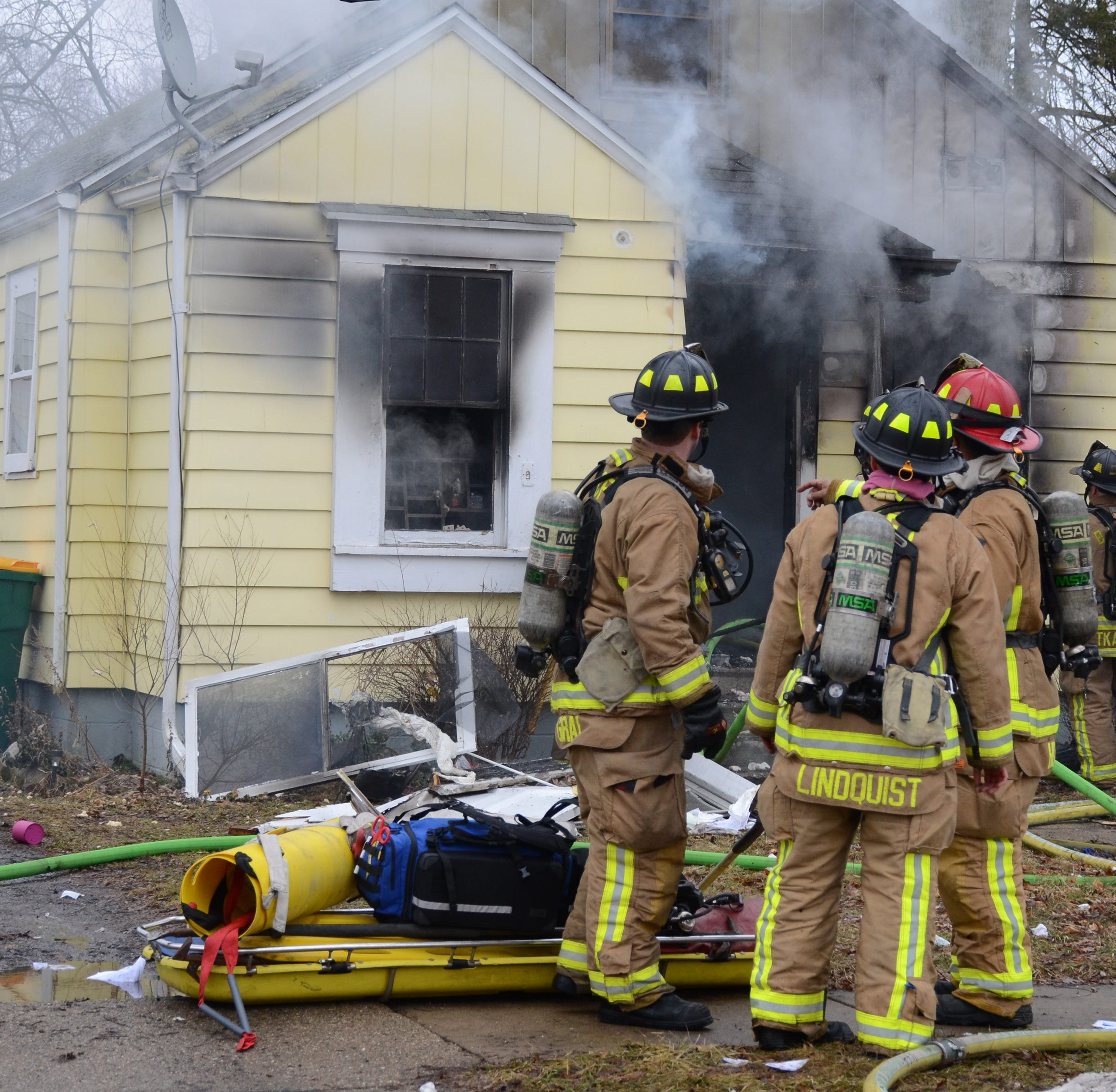 Battle Creek home heavily damaged in Wednesday fire