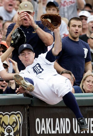 """Former Detroit Tigers third baseman Brandon Inge is hosting """"Dingers for DIPG"""" event to benefit the ChadTough Foundation on August 17 at C.O. Brown Stadium in Battle Creek."""