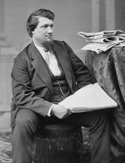Vestal native David Ross Locke, also known as Petroleum V. Nasby.
